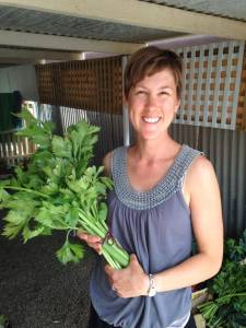 mel with celery first commercial harvest feb 2014