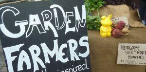 piggy garden farmers stall
