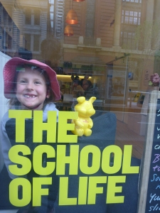 school of life with piggy & emma