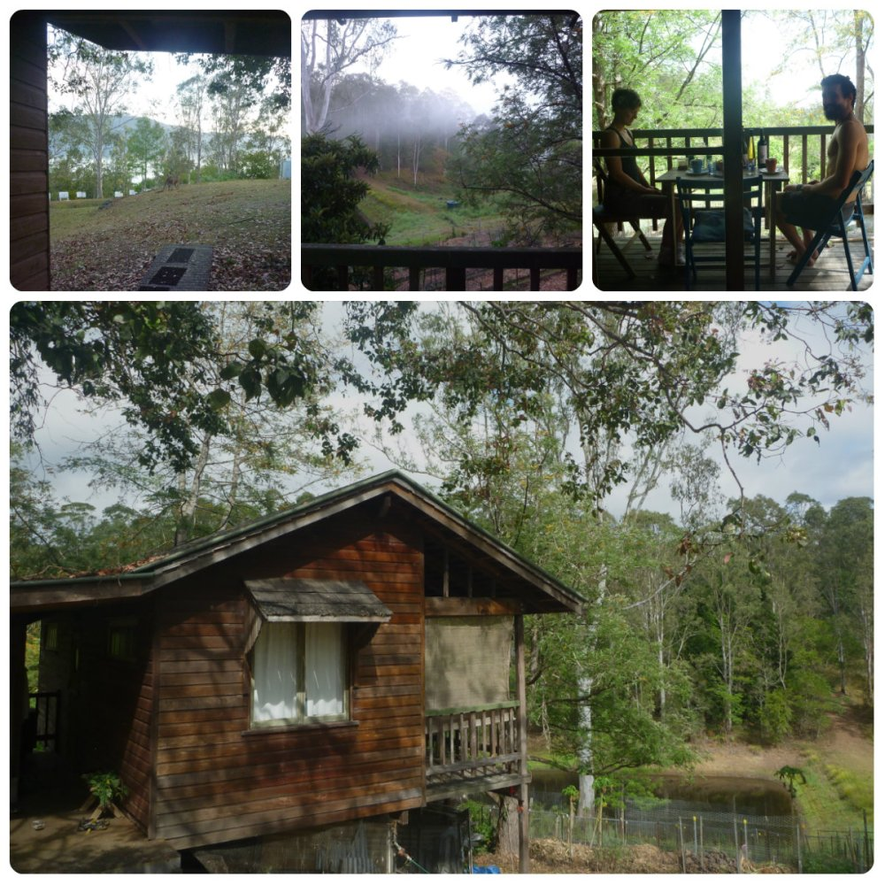 collage cabin