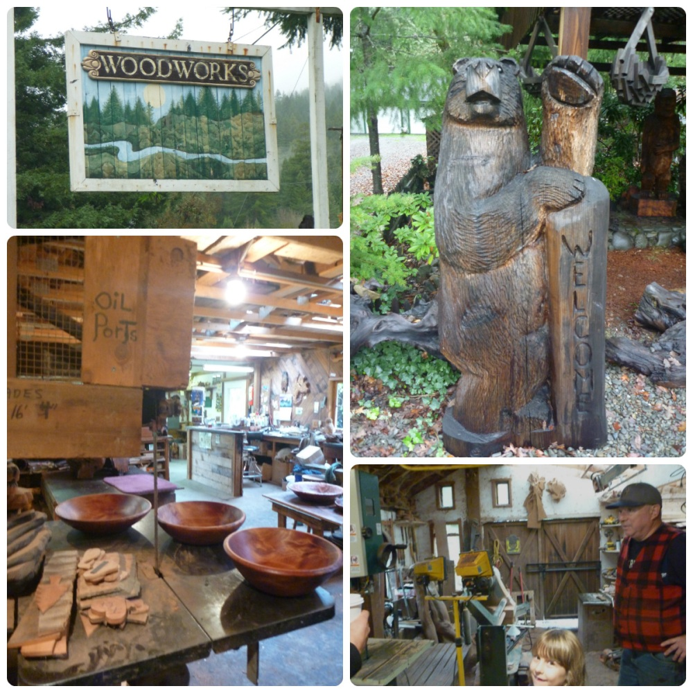 collage woodwork shop miranda CA