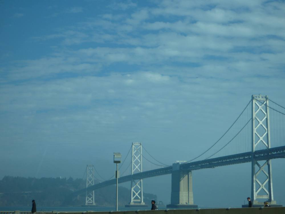 san fran  bridge